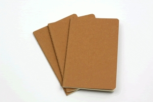 Or notebooks, if you prefer.